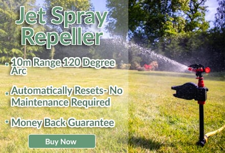 heron jet spray repeller