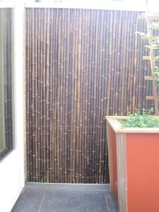 Thick Bamboo Screening - Black