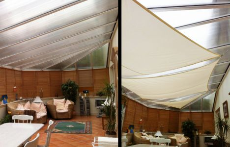 Kookaburra® 3m Square Ivory Waterproof Woven Shade Sail