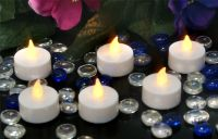 Flicker Flame� LED Tealights - Pack Of Six
