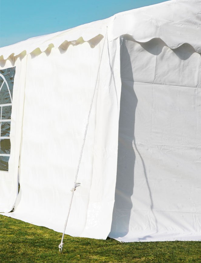 Side Panel For Luxury Marquee, Without Window