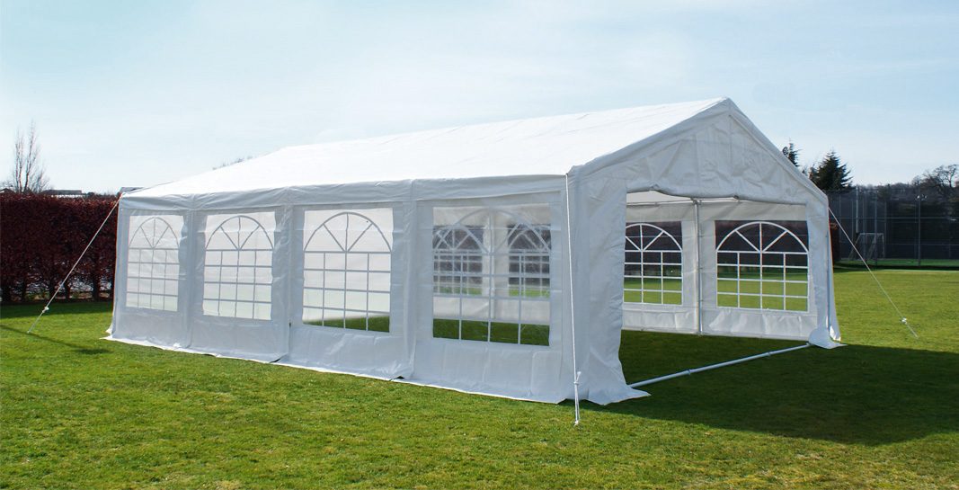 Standard Marquee Party Tent 6m X 8m 163 599 99