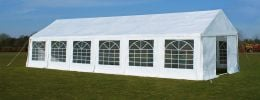 Luxury Marquee 4m x 12m, 380g /m² Waterproof PVC , 38mm Steel Frame