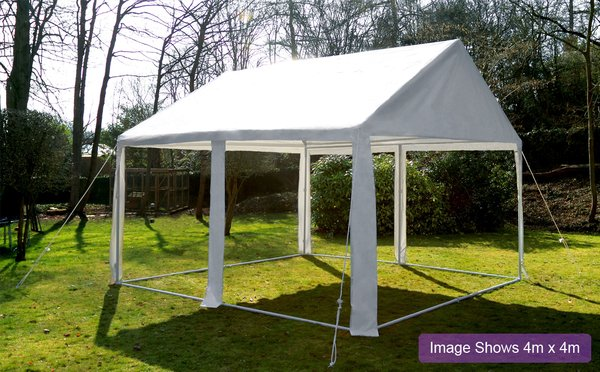 Luxury Marquee 3m x 4m, 380g /m² Waterproof PVC , 38mm Steel Frame