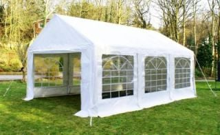 Luxury Marquee 4m x 6m, 380g /m² Waterproof PVC , 38mm Steel Frame