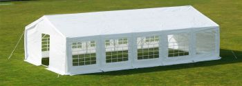 "6m x 10m (19ft 8"" x 32ft 9"") Standard Marquee / Party Tent with FREE Ground Bar Kit"