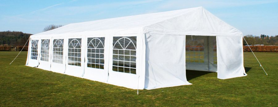 Luxury Marquee 6m x 12m, 380g /m² Waterproof PVC , 38mm Steel Frame