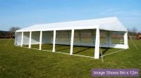 "3m x 10m (9ft 10"" x 32ft 9"") Luxury Marquee / Party Tent"