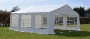 "6m x 6m (19ft 8"" x 19ft 8"") Standard Marquee / Party Tent"