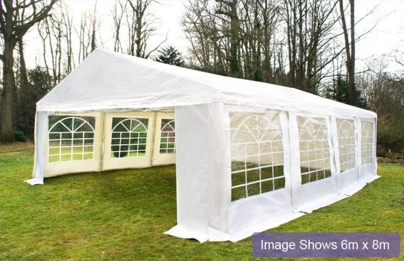 "6m x 6m (19ft 8"" x 19ft 8"") Luxury Marquee / Party Tent"