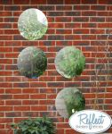 1ft 3in Set of 4 Circular Acrylic Garden Mirrors - by Reflect™