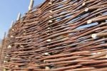 6ft (1.8m) Willow Hurdles Fencing Panel by Papillon™