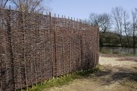 3ft (91.4cm) Willow Hurdles Fencing Panel by Papillon�