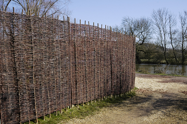 Willow Hurdles Fencing Panel 1.82m x 0.9m (6ft x 3ft) - By Papillon™