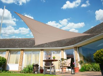 Kookaburra 6m Right Angle Triangle Mushroom Waterproof Woven Shade Sail