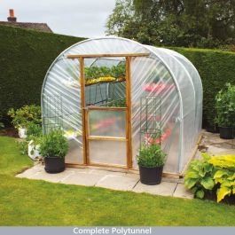 New Concept Polytunnel 10x10ft - Hard Fix