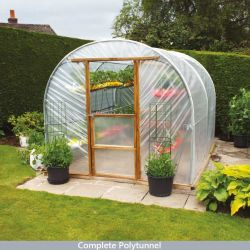 New Concept Polytunnel 10x25ft - Hard Fix