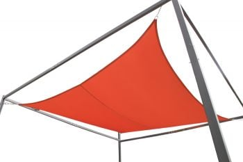 Kookaburra™ Shade Sail Frame - 3.5m x 3.5m x 2.7m Height