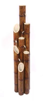 Ginko 7-Tier Bamboo Water Feature