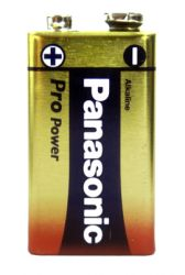 1x Panasonic Pro 9V Battery