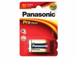 Panasonic Pro 9V Batteries - Pack of 2