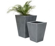 Tall / Flared Square Planters