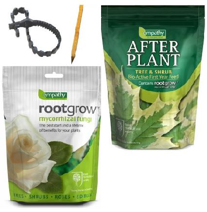 Full Tree Planting Kit - Empathy™ Rootgrow, Afterplant and Tree Stake & Tie