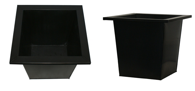 25cm Flared Square Planter Insert - By Primrose®