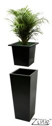 L26cm Flared Square Planter Insert - By Primrose®
