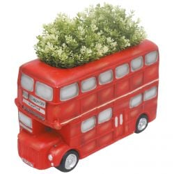 H40.5cm London Bus Frost Proof Polyresin Planter