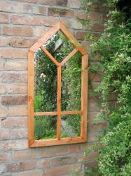 3ft 2in x 1ft 7in Gothic Style Illusion Mirror