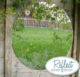 1ft 4in Circular Acrylic Garden Mirror - by Reflect™
