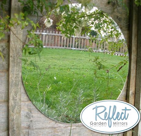 1ft 3in Circular Acrylic Garden Mirror - by Reflect™
