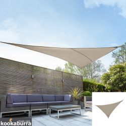 Kookaburra® 6m Right Angle Triangle Mushroom Party Sail Shade (Woven - Water Resistant)