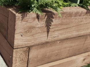 FSC Brown Softwood Sleeper 12.5 x 25 x 240cm
