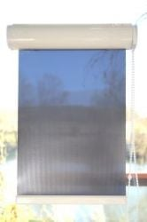 Solar Blind [Baltic] (2.51M² - 3M²) With White Cassette - Width: 115cm x Drop: 226cm