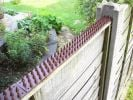 Fence and Wall Spikes - Brown