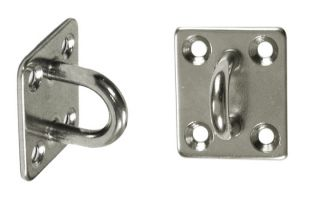 3cm x 3.5cm Stainless Steel Pad Eye - Rectangular