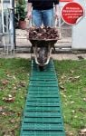 Instant Garden Roll Out Path Green - Plastic - Chevron - 3 Metres - Single Width