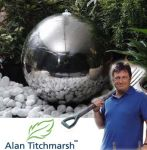 Alan Titchmarsh's Cautley -  30cm Medium Stainless Steel Sphere