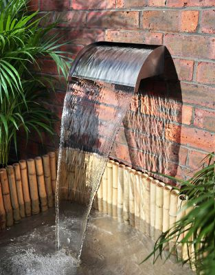 90cm Victoria Falls Stainless Steel Waterfall Blade Cascade (Sheer descent)