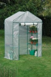 2ft 3in x 4ft 8in Mini Walk-in Greenhouse
