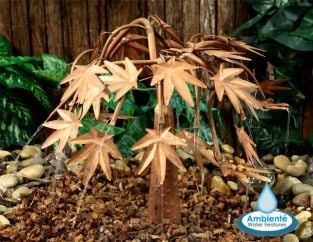 Japanese Maple Copper Water Feature by Ambienté