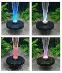Apollo Fountain with Colour Changing LED Lights