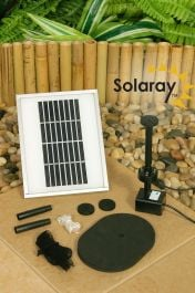 200LPH Solar Water Pump Kit with Lights and Battery Backup by Solaray