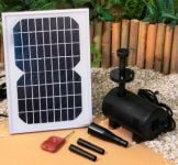 800LPH Solar Water Pump Kit with LED lights by Solaray� Remote Controlled
