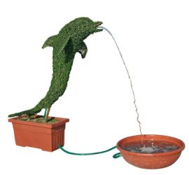 Topiary Water Feature - Dolphin H1.80m