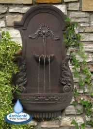 H83cm Angel Wings Wall Fountain by Ambienté