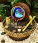 Oshi Honey Pot and Spinning Globe with LED Light