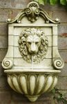 King Lion Head Wall Fountain Water Feature by Ambienté